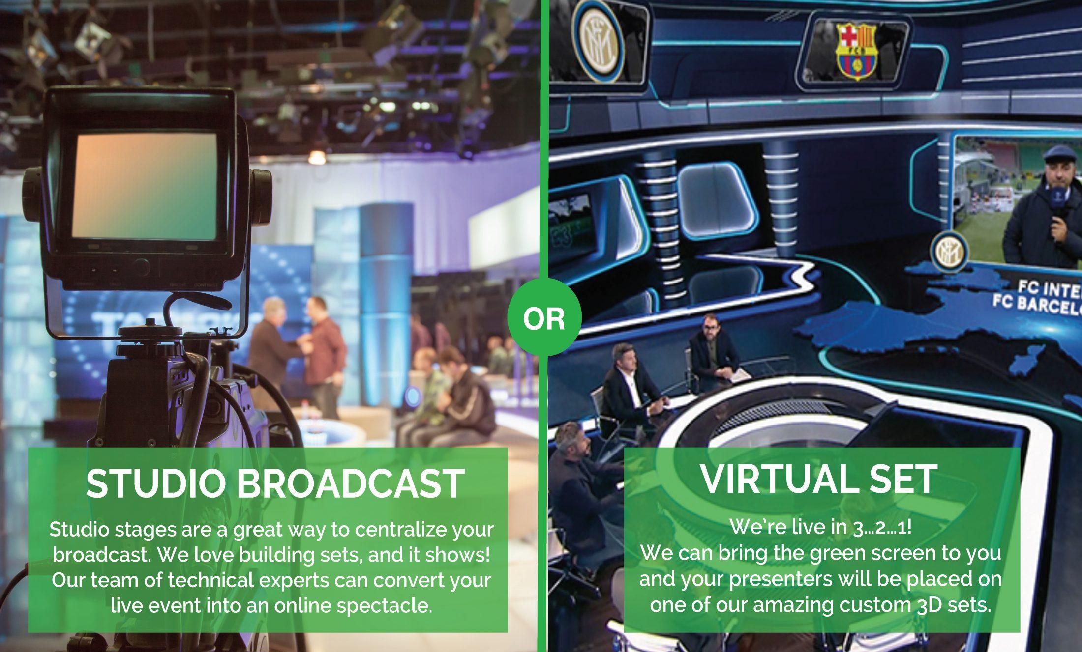 livestream, virtual event
